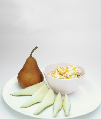 Pears with a Zesty Dip