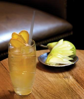 Schweppes Gingerlea Mocktail