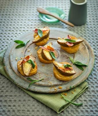 Pear and Mustard Welsh Rarebit