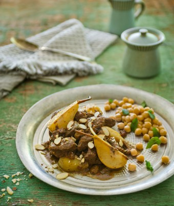 Lamb and Pear Tagine