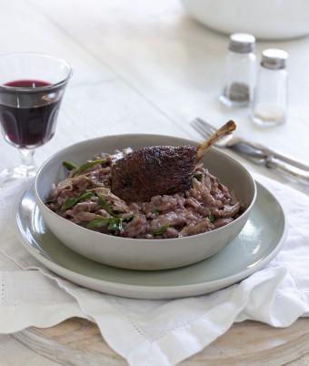 Duck and Red Wine Risotto Recipe