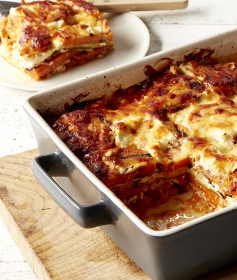 Zucchini and Sweet Potato Lasagne