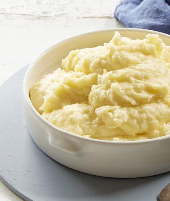 Cheesey Garlic Potato Mash