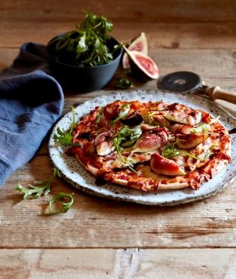 Prosciutto, Fig and Balsamic Glaze Pizza