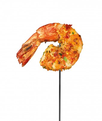 Red Curry Prawn Skewers recipe