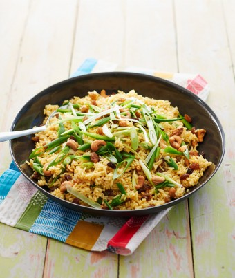 Retro Curried Rice Salad