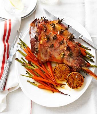 Roast garlic and rosemary roast lamb recipe