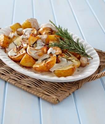 Rosemary Roast Potato Salad