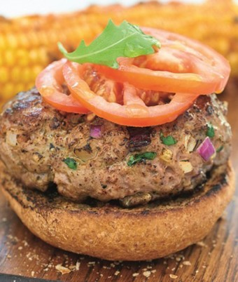 Homemade Lamb Burgers