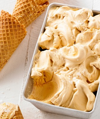 Creamy Salted Caramel Ice Cream Recipe