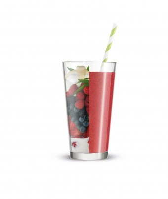 Berry Mint Bliss Smoothie - made with the Breville Boss To Go blender