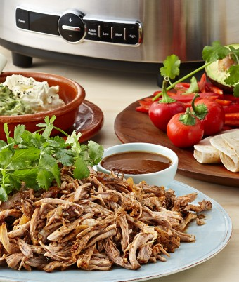 Spanish style Pulled Pork