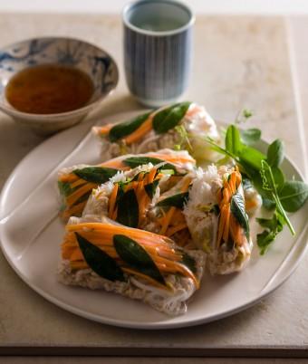 Fresh Turkey Rice Paper Rolls