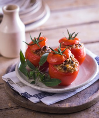 Stuffed Turkey Tomatoes