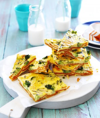 Sweet Potato and Broccoli Frittata