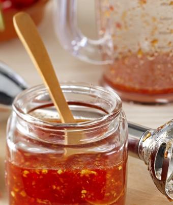 Sweet chilli hot sauce