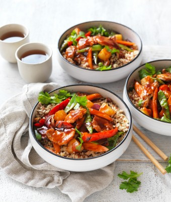 Sweet and sour pork with pineapple recipe