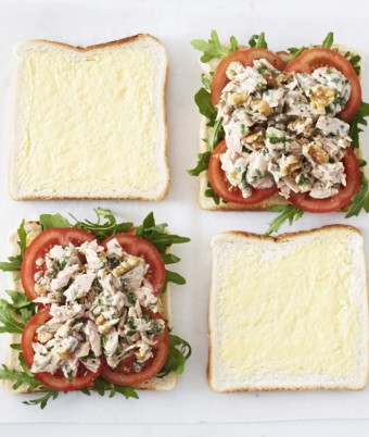 Tuna & Capers Sandwich