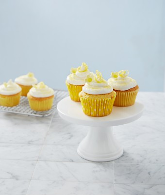 Coconut Lemon Cup Cakes