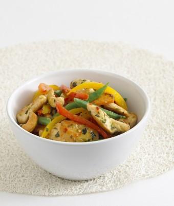 Thai Chicken and Vegetable Stir Fry recipe