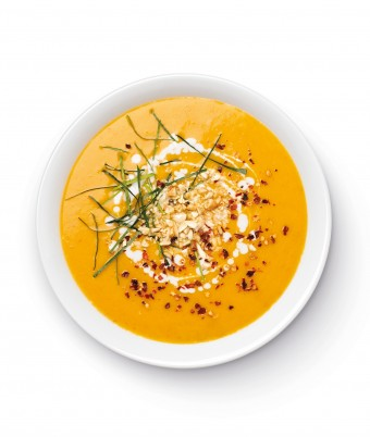 Easy winter soup made with The Breville Boss