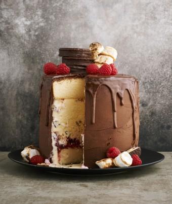Giant Wagon Wheel Cake Australia Day