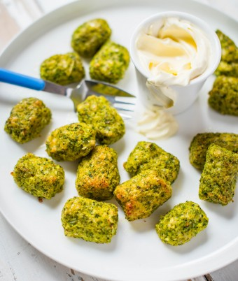 Cheesy Broccoli Gems