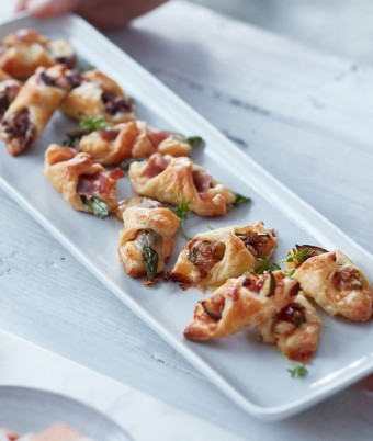 Mini Savoury Danishes: 3 ways