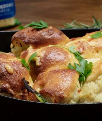 Cauliflower Roasted Two Ways