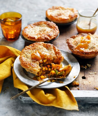 Easy Tikka Masala Curry Vegetarian Pies