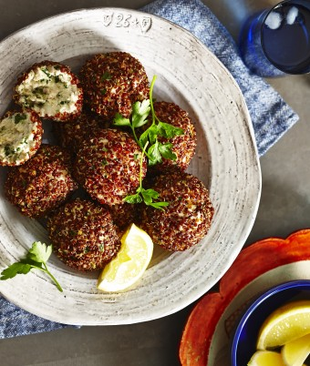 Healthy Turkey Kale Protein Balls Recipe