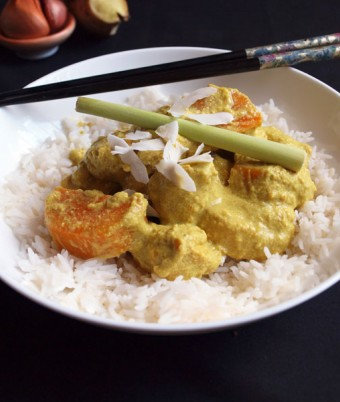 Healthy Malaysian Chicken Curry