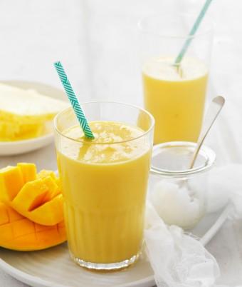 Coconut Almond Milk Breakfast Smoothie