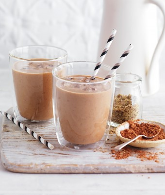 Cacoa and Nut Protein Smoothie