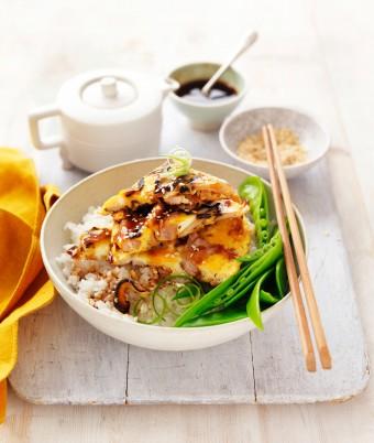 Chicken and Egg Donburi recipe Japanese Rice Bowl
