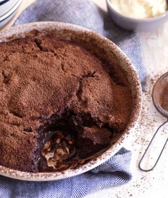 Chocolate Self Saucing Pudding Recipe