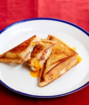 Bacon and Egg Jaffle