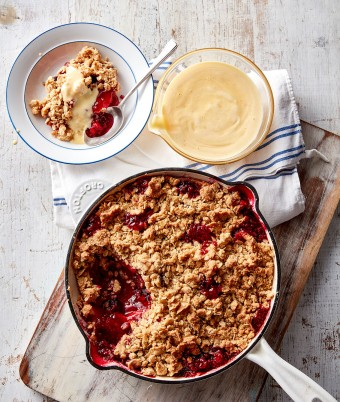 Apple berry crumble recipe