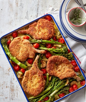 Pork cutlet recipe idea
