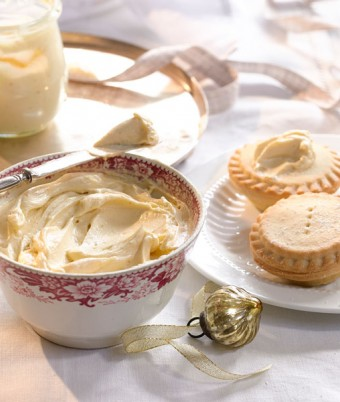 Brandy Butter for christmas desserts