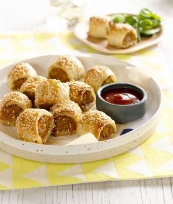 Easy kids version healthy Sausage Rolls Recipe