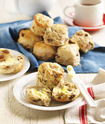 Sultana and Cinnamon Scones
