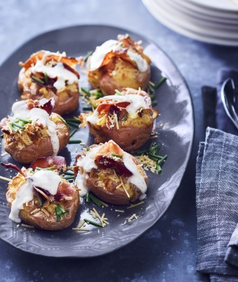 Ranch Style Potatoes with Prosciutto