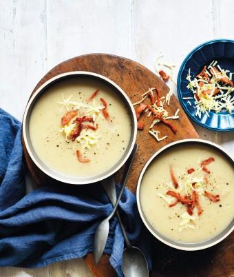 cauliflower and leek soup recipe