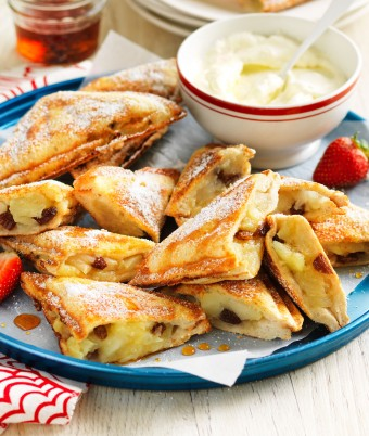 Hot apple pie jaffle recipe