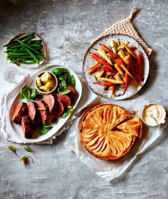 modern australian sunday roast dinner menu