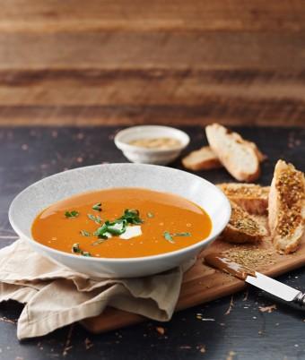 Spiced Kumera Soup