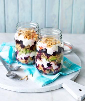 Weet-Bix Breakfast in a jar