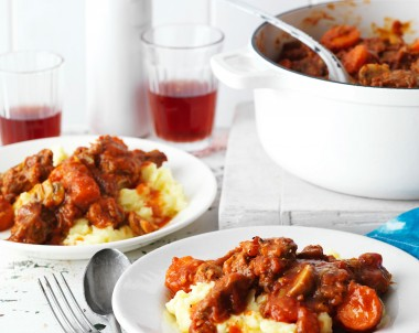 Rich Aussie Beef and Vegetable Casserole