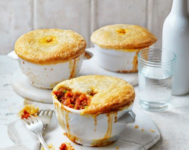 Lamb, Tomato and Sweet Potato Pot Pies
